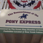 Crown King Welcomes the Pony Express Riders!